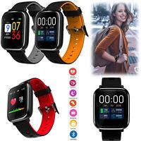 Bluetooth Smartwatch Sport Pulsmesser Smart Bracelet für Samsung iPhone Xiaomi