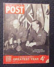1946 PICTURE POST Magazine v.30 #1 G/VG 3.0 History's Greatest Year - Eisenhower