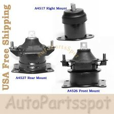 For 04-06 Acura TL 3.2L Engine Motor Mount Set 3PCS Auto Transmission G272