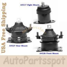 For 04-06 Acura TL 3.2L Engine Motor Mount Set 3PCS Auto Transmission G272