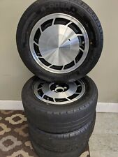 "Vintage 14x6x35 14"" WHEELS RIMS ALUMINUM ALLOY MAG AMERICAN RACING SET 4"