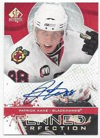 2008-09 SP Penned Perfection autographed card Patrick Kane Chicago Blackhawks