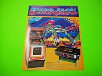 Universal SNAP JACK Original NOS 1981 Space Age Classic Video Arcade Game Flyer