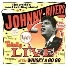 Totally Live at the Whiskey a Go Go by Johnny Rivers (CD, May-1995, EMI Music...