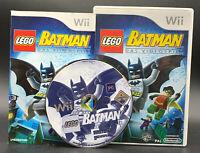"""NINTENDO WII SPIEL"""" LEGO BATMAN - das Videospiel """" KOMPLETT"""