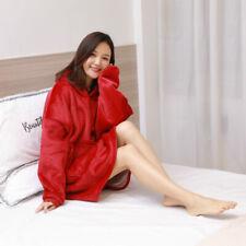 Blanket Sweatshirt Oversized Hoodie Wearable Blanket Soft Warm Comfortable T