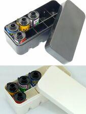 Usd - New Plastic case for 135 35mm film 2 colors Black / White Fuji Kodak Lomo