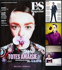 MAISIE WILLIAMS GAME OF THRONES JOANNE BECKHAM JACK WHITEHALL ES MAGAZINE 2015