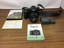 Canon Eos 40D 10.1Mp Digital Slr Camera + Ef-S 18-55mm lens +Warranty!