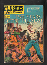 Classics Illustrated #25 Vg+ Hrn85 (Two Years Before The Mast) R H Dana Jr.