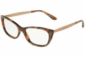 New DOLCE & GABBANA DG3279 3131 53mm Beige Cube Bronze Eyeglasses Frames Italy