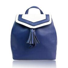 Hallie Two Tone Tassle Trim Bag