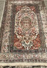 An Awesome Turkish Silk Rug