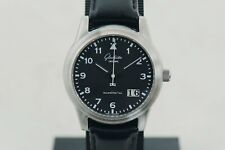 Glashütte Senator Navigator Big-Date automatic GUB 38-42 Steel Men's watch 39mm