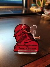 30s Franklin Institute Fels Planetarium Philadelphia Admission Tag Ben Franklin
