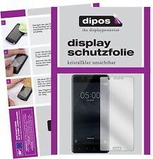 2x Nokia 5 Schutzfolie klar Displayschutzfolie Folie dipos Displayfolie