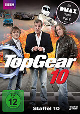 3 DVDs * TOP GEAR ~ STAFFEL 10 # NEU OVP^