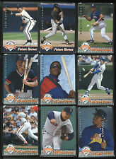 1992 Upper Deck All-Star Fanfest 54 Card Set Past, Present and Future All Stars