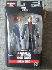 "Marvel Legends Series - Baron Zemo 6"" Action Figure | Captain America BAF"