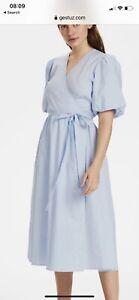 Gestuz Bibi Wrap Dress Size Uk 10 Brand New With Tags RRP £130
