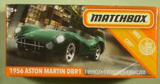 Matchbox 1956 Aston Martin Dbr1 green 2020 #73/100 Power Grabs