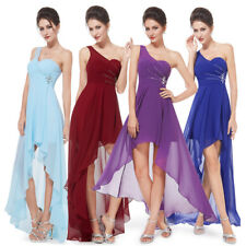 Ever-Pretty High Low Cocktail Prom Dress One Shoulder Formal Party Dresses 08100