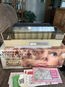 Clairol Vintage 70's Kindness Custom Care Hot Rollers K-300 Deluxe Very Clean