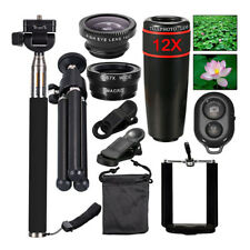 All in1 Accessories Phone Camera Lens Top Travel Kit For Mobile-Smart CellPhone^