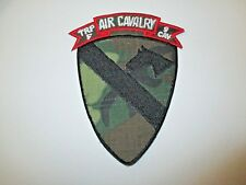 b7115 US Army Vietnam 1st Cavalry Division F Trp Troop 9 Cav Air ERDL IR36B