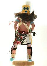 Vintage Hopi Carved LARGE Zuni Warrior Diety Kachina Doll Sculpture 1970