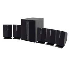 Subwoofer Surround Sound 5 1 Channel Music Tv Dvd Home Theater Speakers System