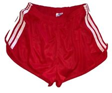 ADIDAS VINTAGE Men's SHORTS SIZE M TREFOIL RED AND WHITE NWOT A Gem