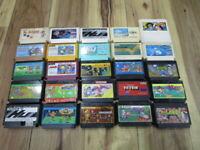 Nintendo Famicom Lot of 20 piece Mario Bros. Dragon Quest NES T659