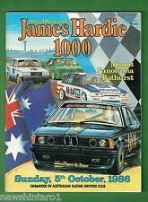 #MM.  1986  BATHURST MOUNT PANORAMA MOTOR RACING PROGRAM