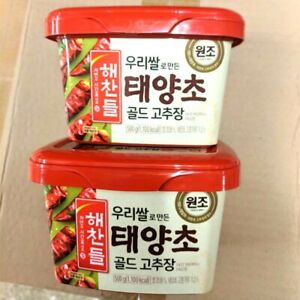 Haechandle Korean Spicy Hot Pepper Chilli Paste Sauce Gochujang 500g (Pack of 2)