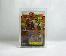 NEW 1987 TYCO Dino-Riders ✧ SIX GILL + ORION ✧ 16 BK 2-Pack UKG 85 E36