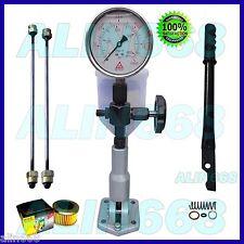 Diesel Injector Nozzle Pop Pressure Tester Glycerin Filled 6000 BAR/PSI SS Gauge
