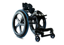 CarbonBlack II - British Manual Carbon Fibre Ultra Lightweight Wheelchair