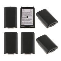 6er Batterie-Abdeckung Akku Deckel für Xbox 360 Slim Wireless Controller