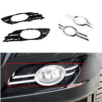 For Mercedes 06-09 E-CLASS W211 Fog Light Bumper Cover Grill Chrome Trim
