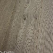 Engineered Oak Flooring 15mm x 3mm x190mm London Grey Oak Wood Veneer