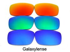 Galaxy Replacement Lenses For Oakley Chainlink Blue/Green/Red Polarized 3 Pair