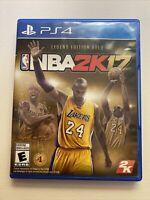 NBA 2K17: Legend Edition Gold Kobe Bryant Sony PlayStation 4 PS4