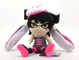 "GENUINE Splatoon Squid Sister Callie Pink Stuffed Plush 10"" Little Buddy 1469"