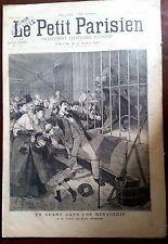 b)Le petit parisien 12/4/1891; A la foire au Pain d'Epices/ Attaque de Lion