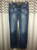 Big Star 28R 28 Size 6 Remy Low Rise Boot Jeans PERFECT Flap Pocket Women's