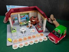 Playmobil Pizzeria II, Gebäude 6220-A/2011,6291 u. Lieferservice 6292-A/2012!
