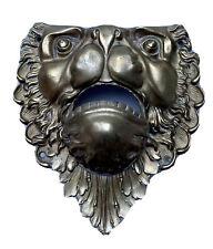 Mascaron Coin de Billard Dégueuloir Bronze Zoomorphe Tête de Lion Époque XIX ème