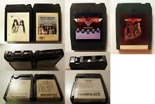 8-Track: Aerosmith: Self-Titled + Draw The Line + Rocks + Toys in the Attic