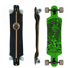 Easy People Longboards DTD-1 Drop Through Down Longboard Complete Deck Lowrider